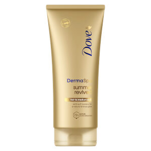 Dove DermaSpa Summer Revived Body Lotion Helle bis mittlere Skin (200ml)