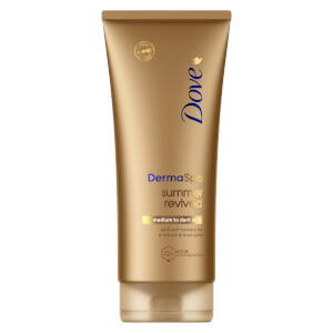 Dove DermaSpa Summer Revived Body Lotion Mittlere bis Dunkle Skin (200ml)