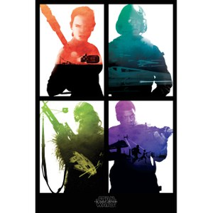 Star Wars: The Force Awakens Rebel Block - 24 x 36 Inches Maxi Poster