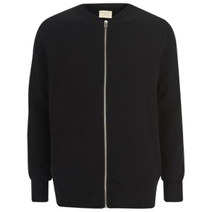 Selected Homme Men's Victor Zip Cardigan - Black