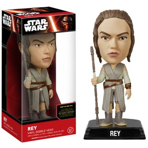 Star Wars Episode VII Wacky Wobbler Bobble Head Rey