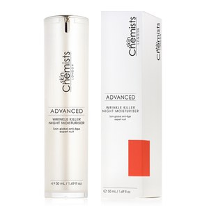 skinChemists Advanced Wrinkle Killer Night Moisturiser (50ml)