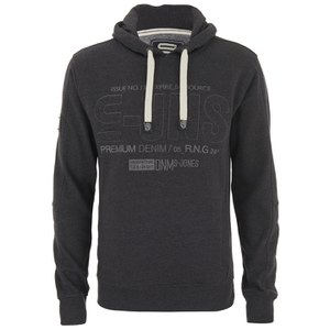 Smith & Jones Men's Batley Hoody - Charcoal Marl