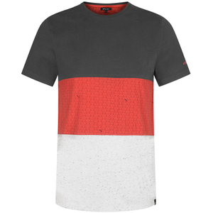 Animal Men's Jonas Cut & Sew T-Shirt - Asphalt Grey