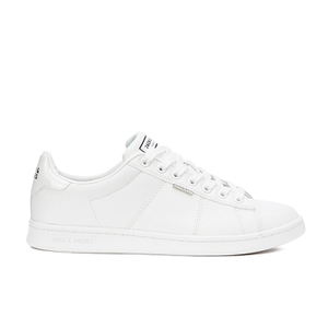 Jack & Jones Men's Bane PU Trainers - White