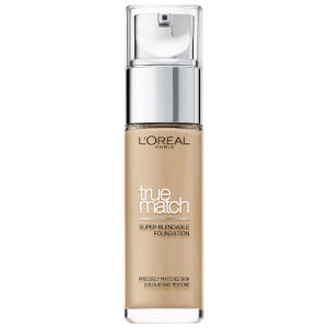 L'Oréal Paris True Match Liquid Foundation with SPF and Hyaluronic Acid 30ml (Various Shades)