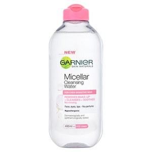 Garnier Micellar Water Facial Cleanser Sensitive Skin 400ml