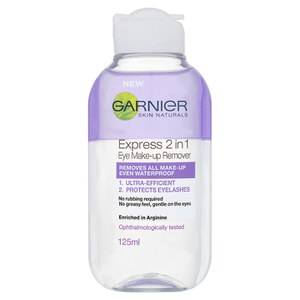 Garnier Skin Naturals 2-in-1 Eye Make-Up Remover płyn do demakijażu oczu (125 ml)