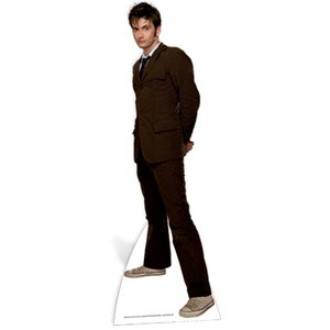 Doctor Who The Doctor Brown Suit Cut Out