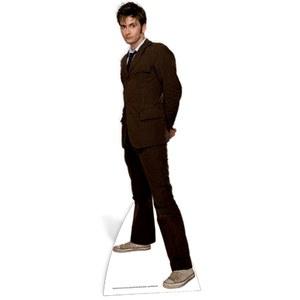 Doctor Who The 10th Doctor Bruin Pak Kartonnen Figuur