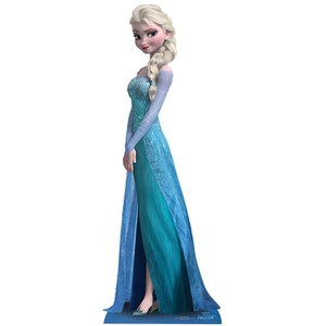 Disney Frozen Elsa Cut Out