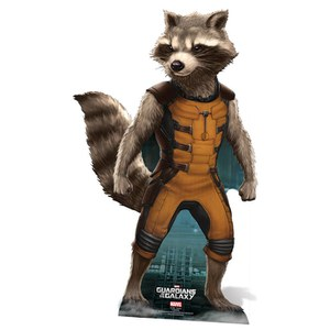 Marvel Guardians of the Galaxy Rocket Raccoon Kartonnen Figuur