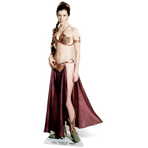 Star Wars Princess Leia Palace Slave Girl Cut Out