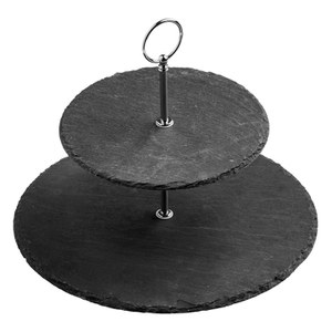 Premier Housewares Slate Cake Stand from I Want One Of Those