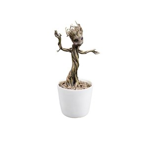 Factory Entertainment Marvel Guardians Of The Galaxy Large Potted Groot Shakems Premium Motion Statue