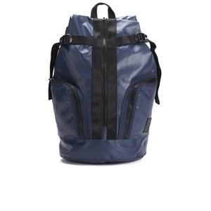 French Connection Men's Bright PU Backpack - Marine Blue