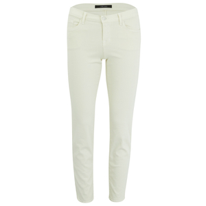 J Brand Womens 8312 Mid Rise Rail Photoready Cropped Jeans - Tropez