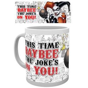 DC Comics Batman Harley Quinn Jokes on You - Mug