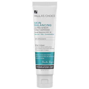 Crema Daily Defense ultraligera Skin Balancing FPS 30 de Paula's Choice (60 ml)