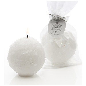 Stoneglow Seasonal Collection Snowball Candle Stocking Filler