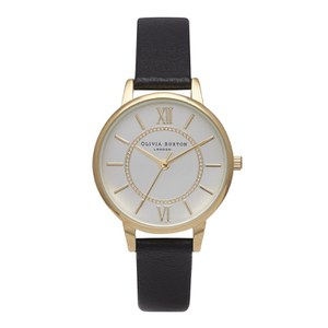 Olivia Burton Women's Wonderland Watch - Gold/Silver/Black