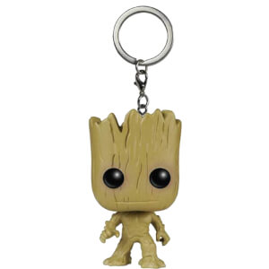 Marvel Guardians Of The Galaxy Groot Pocket Funko Pop! Keychain