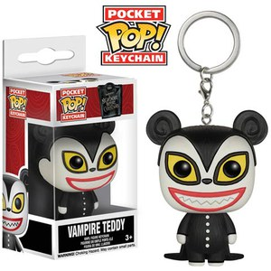 Disney The Nightmare Before Christmas Vampire Teddy Pocket Pop! Vinyl Key Chain
