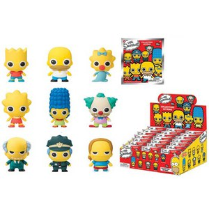 The Simpsons 3D Figural Foam Mini-Figure Key Chain