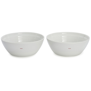 Keith Brymer Jones Eat Large Bowls - White (Set of 2)