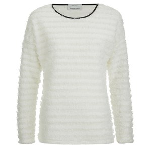 ONLY Women's Ulla Long Sleeve Top - Cloud Dancer