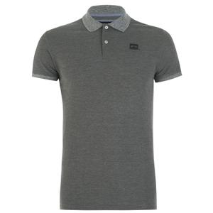 Jack & Jones Men's Part Polo Shirt - Grey Melange