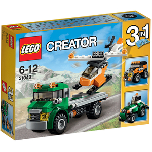 LEGO Creator: Hubschrauber Transporter (31043)