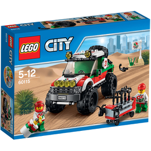 LEGO City: 4 x 4 voertuig (60115)
