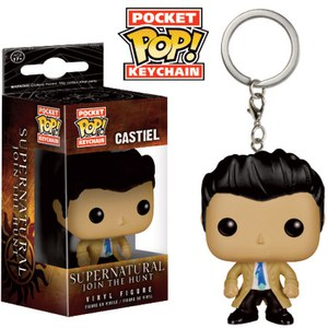 Supernatural Castiel Pop! Vinyl Key Chain