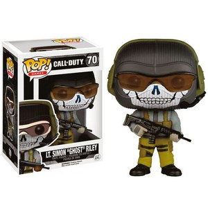 Figura Pop! Vinyl Teniente Simon Ghost Riley - Call of Duty