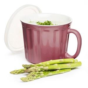 Sagaform Soup Mug with Lid - Pink