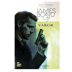 James Bond 007 'VARGR' My Geek Box Exclusive cover comic