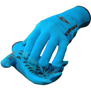 DeFeet Dura Etouch Gloves - Ocean Blue/Black
