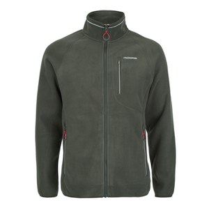 Craghoppers Men's Ryeland Full Zip Fleece - Dark Khaki