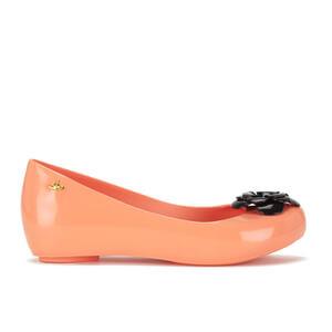 Vivienne Westwood for Melissa Women's Ultragirl 15 Ballet Flats - Apricot Flower