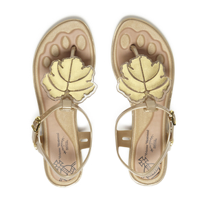 Vivienne Westwood for Melissa Women's Solar Sandals - Gold Leaf