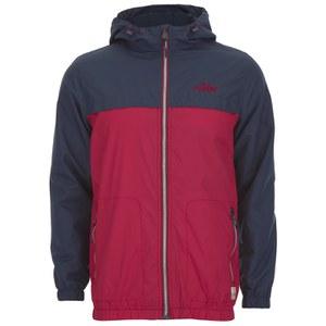 Tokyo Laundry Men's Carmel Windrunner Jacket - Firebrick Red
