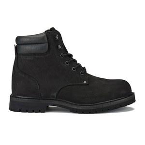 Jack & Jones Men's Stoke Nubuck Boots - Black