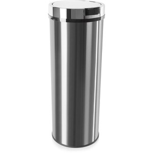 Morphy Richards 974148 Round Sensor Bin - Stainless Steel - 50L