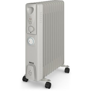 Pifco P43005YT Oil Filled Radiator - White - 2500W