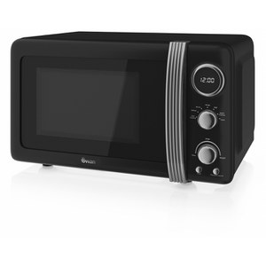 Swan SM22030BN 800W Digital Microwave - Black
