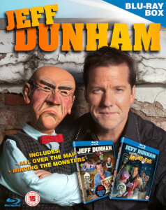 Jeff Dunham Box Set - Minding the Monsters - All Over the Map