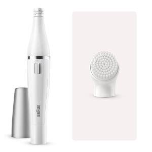 Depiladora facial y cepillo de limpiezaBraun 810