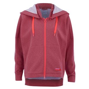 adidas Women's Stella Sport Gym Full Zip Hoody - Pink