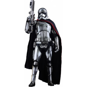 Hot Toys Star Wars Episode VII Figure Captain Phasma Movie Masterpiece 13 Inch Figure